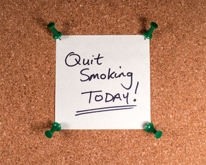 Wall Mural - Quit Smoking Today