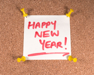 Wall Mural - Happy New Year!