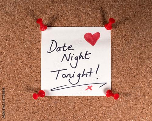 Wall mural Date Night