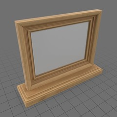 Wooden photo frame 1