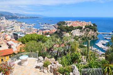 Cityscape of Principality of Monaco Fotomurales