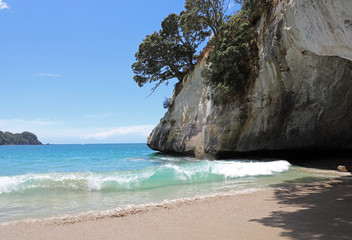 Photo sur Aluminium Cathedral Cove Cathedral Cove. Coromandel Halbinsel. Neuseeland