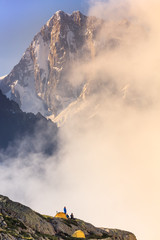 Wall Mural - Mont Blanc, France