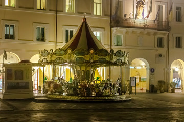 ObjetosThe carousel is a toy for fairs, parties and amusement parks. Fototapete