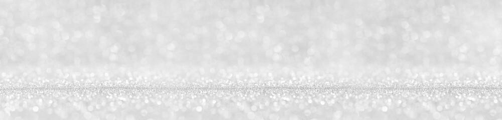 Shiny silver lights background