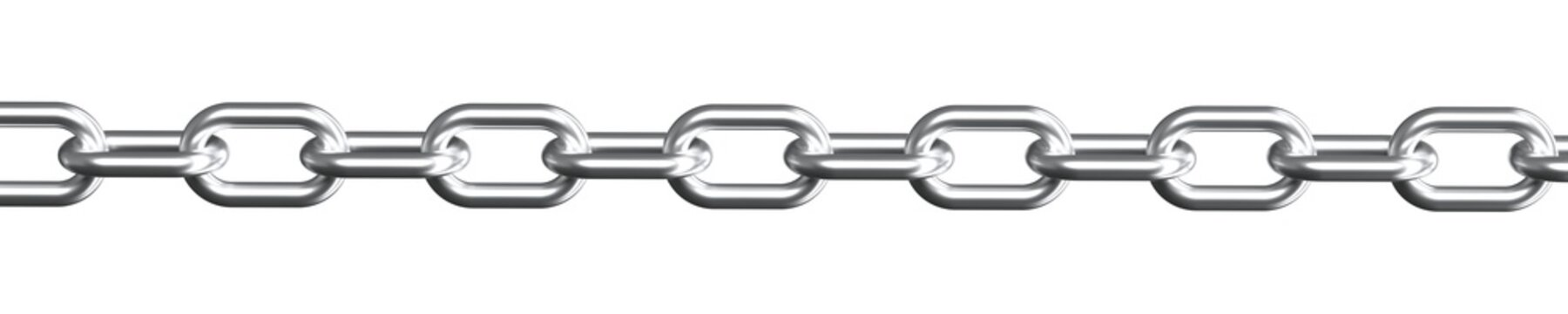 Chain isolated 3d rendering