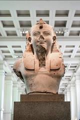 Egyptian sculpture in British Museum, London