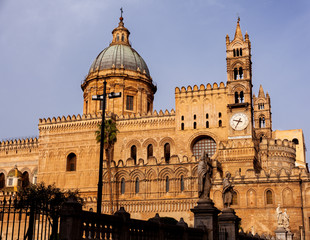 Aluminium Prints Palermo Cathedral church of Palermo dedicated to the Assumption of the Virgin Mary