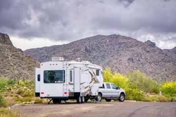 Camping in White Tank State Park Near Phoenix Arizona