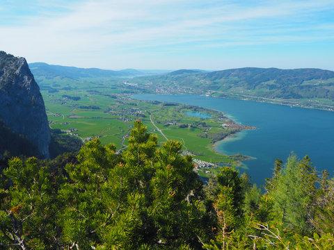 Mondsee (Salzkammergut) - Blick vom Almkogel