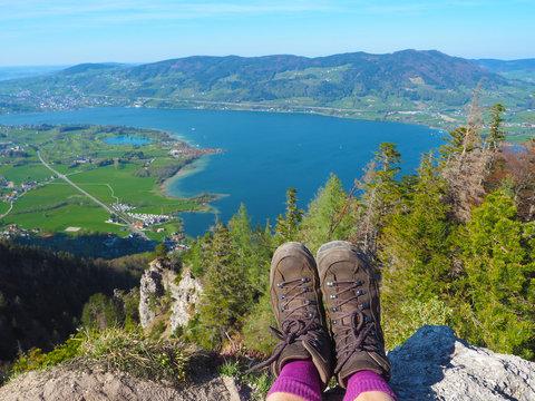 Mondsee (Salzkammergut) - Wanderschuhe