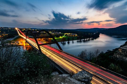 360 Bridge at Sunset