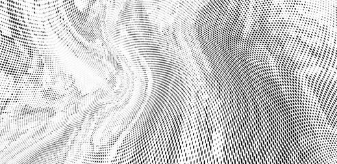 Grunge halftone dots pattern texture background