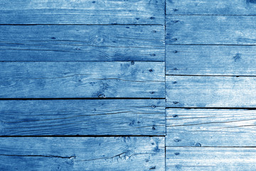 Old wooden wall in navy blue tone.