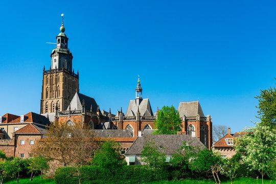 Walburg Church, Walburgiskerk in Zutphen, The Netherlands