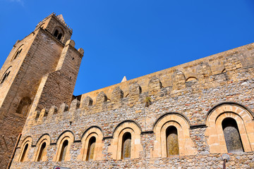 Basilica Cathedral of the Transfiguration Cefalu Sicily Italy