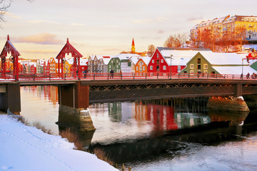 The Old Bridge, Trondheim