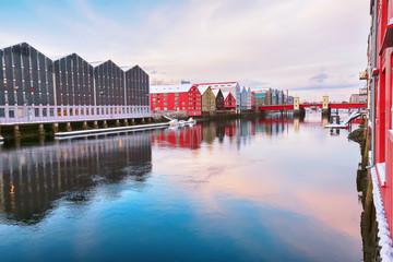 River Nidelva , Trondheim