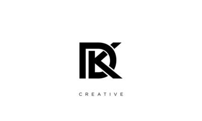 dk logo design vector