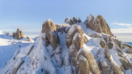 Fototapete - Ciucas Mountains, Romania