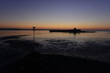 St Aubins fort, Jersey, U.K. Winter sunrise.