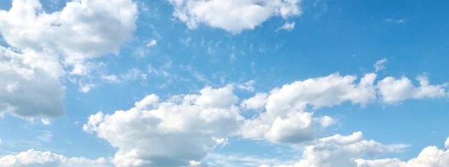 파란하늘과 하얀구름    Fotobehang