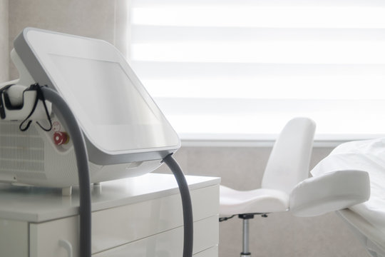 Medical equipment for doctors, cosmetologists