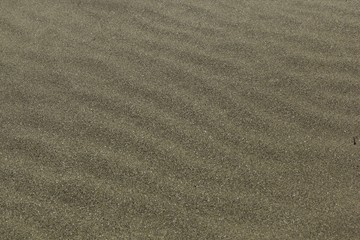 Closeup of sand covering the beach under sunlight - a nice picture for backgrounds and wallpapers