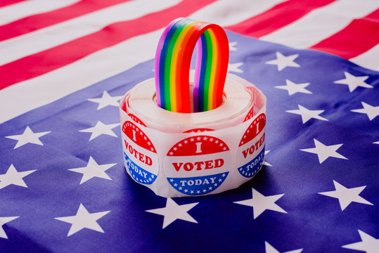 Gay social groups require politicians on election day commitments to their rights.