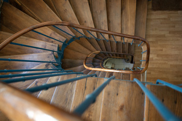 Wall Murals Spiral Escalier