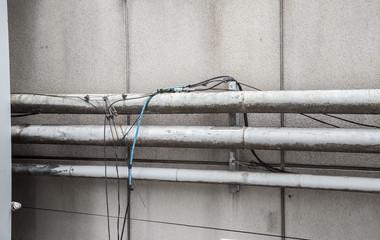 老朽化した配管