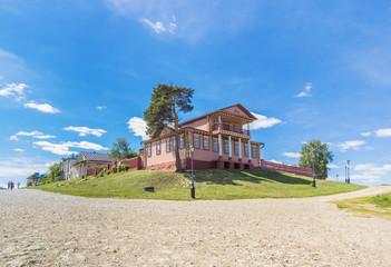 View of the Civil War Museum in Sviyazhsk, Tatarstan