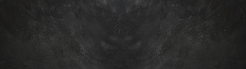 Türaufkleber Panoramafotos black stone concrete texture background anthracite panorama banner long