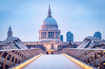 Printed roller blinds London St Pauls Cathedral