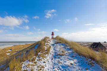 Garden Poster North Sea Sylt im Winter