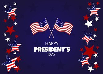 President's Day, Presidents Day, Presidents' Day background, President's Day banners, President's Day flyer, President's Day design, President's Day flag on background, Copy space text area, vector