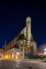 Fototapete - Minoritenkirche, Vienna, Austria