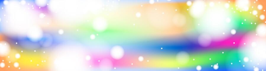 Fototapeta Baner. Kolorowe tło i rozbłyski światła.