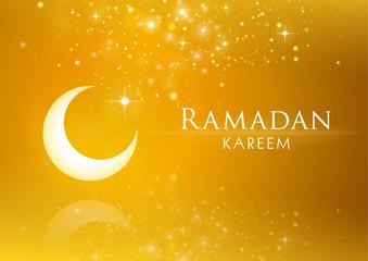 Ramadan Kareem vector design. Islamic art illustration.