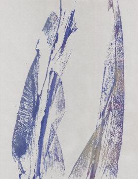 Botanical art print, bamboo leaves