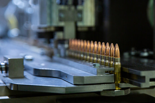 Production bullet for automatic rifle. 7.62 mm bullet for automatic rifle