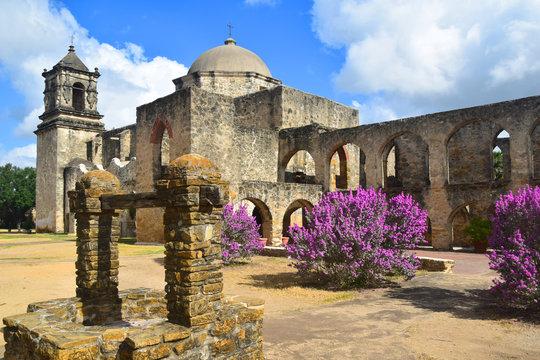 Mission Conception In San Antonio, Texas