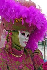 Foto op Canvas Schilderkunstige Inspiratie Italy, Venice colorful carnival masks.