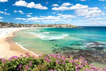 Fotobehang Sydney Amazing Bondi Beach, Sydney Australia