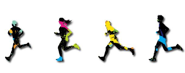 Lamas personalizadas de deportes con tu foto marathon