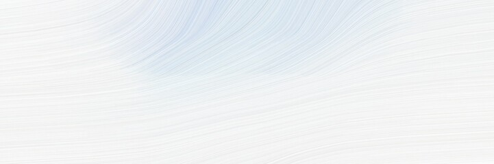 In de dag Abstract wave flowing designed horizontal banner with white smoke, lavender and light gray colors. dynamic curved lines with fluid flowing waves and curves