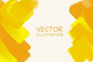 abstract background yellow color. Vector illustration eps 10