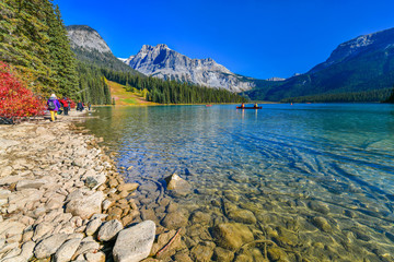 Wall Mural -  View Emerald lake,Yoho National Park in Canada