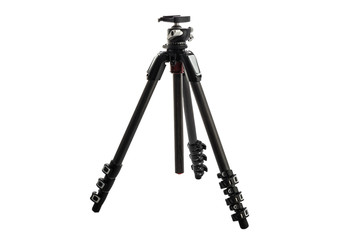 Tripod For Camera Stand With Hydraulic Head Ball isolated on white background