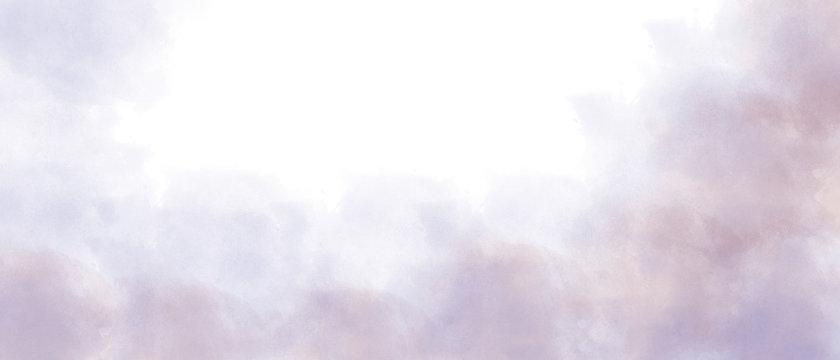 light purple watercolor background paper illustration diagonal gradient of white